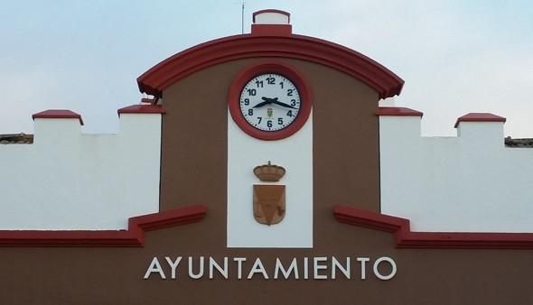nuevo reloj ayuntamiento de fuencaliente isla de la palma, canarias