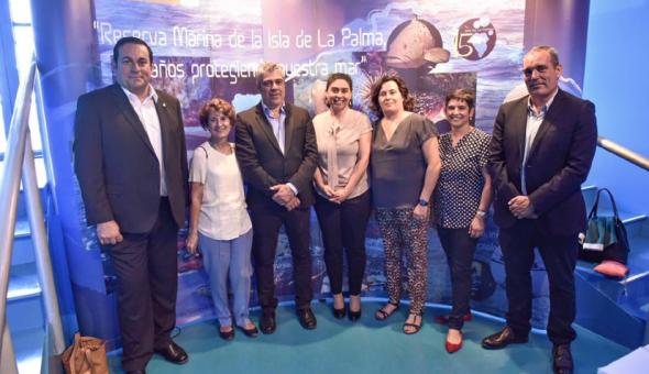 XV aniversario de la Reserva Marina de La Palma 08 junio 2016