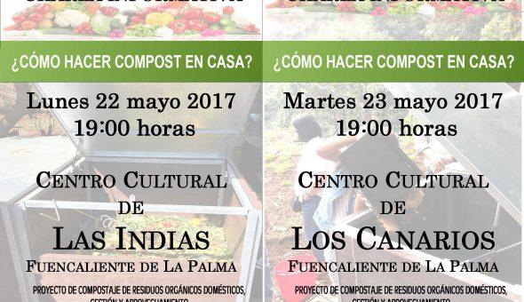 charlas como hacer compost en casa mayo 2017