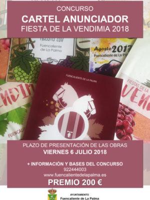 CARTEL - Concurso Cartel Anunciador 2018