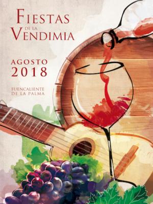 Cartel Anunciador Fiesta de La Vendimia 2018