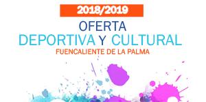 Banner Oferta Deportiva y Cultural 2018-19