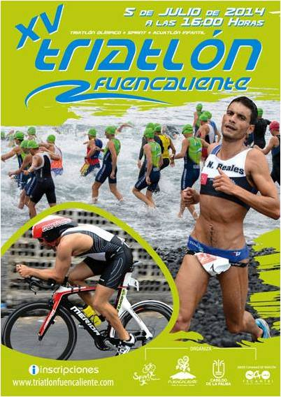 XV Triatlón Olímpico Fuencaliente 2014