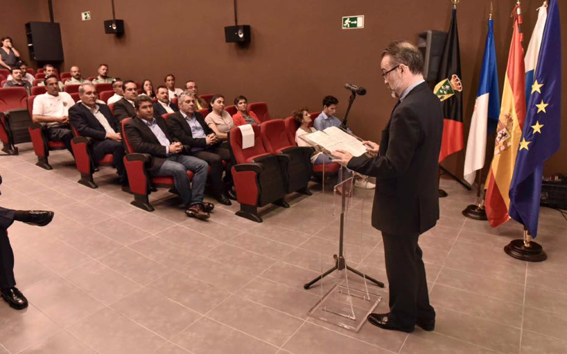 Intervención del secretario general de Pesca del Ministerio de Agricultura, Alimentación y Medio Ambiente, Andrés Hermida.