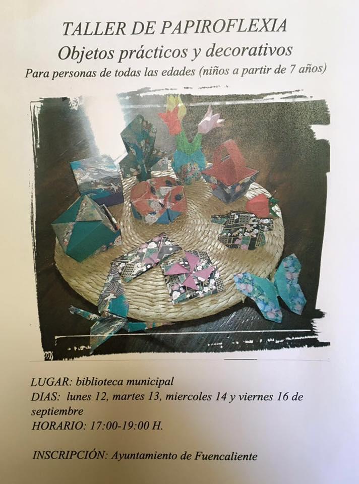 taller papiroflexia 12 sep 2016