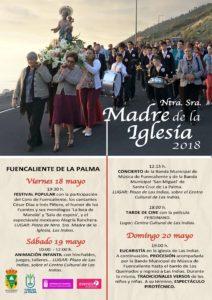 Programa-Fiesta Nuestra Señora Madre de la Iglesia 2018